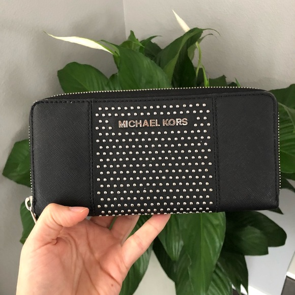 Michael Kors Handbags - MK studded wallet